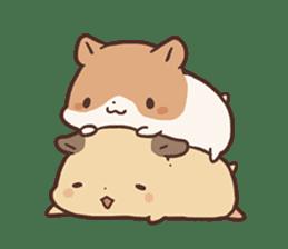 mochi hamuchan sticker #1567330