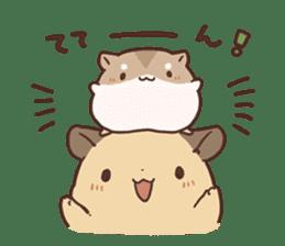 mochi hamuchan sticker #1567332