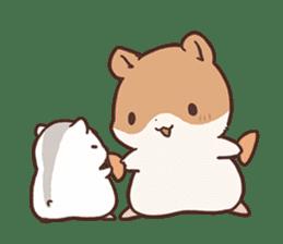 mochi hamuchan sticker #1567333