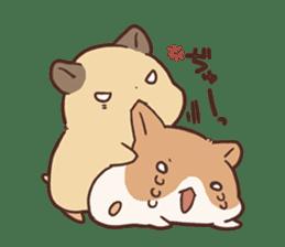 mochi hamuchan sticker #1567334