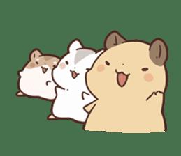 mochi hamuchan sticker #1567335