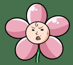 The cosmetics flower sticker #1568301