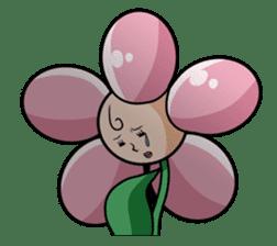 The cosmetics flower sticker #1568311