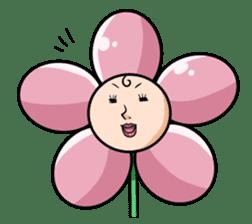 The cosmetics flower sticker #1568325