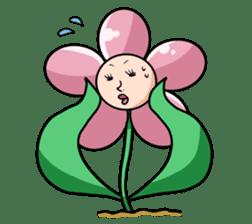 The cosmetics flower sticker #1568326