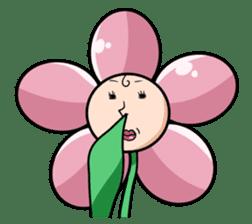 The cosmetics flower sticker #1568327