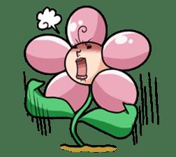 The cosmetics flower sticker #1568334