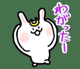 Rabbits cosplay Masamune sticker #1568593