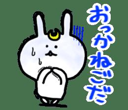 Rabbits cosplay Masamune sticker #1568599