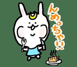 Rabbits cosplay Masamune sticker #1568602