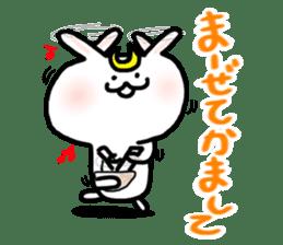 Rabbits cosplay Masamune sticker #1568606