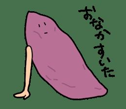 Sweet potato sticker #1568939