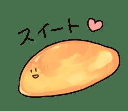 Sweet potato sticker #1568973