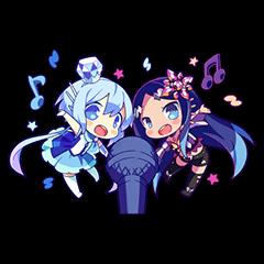 Cutie Chibi Aoki Lapis & Merli