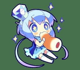 Cutie Chibi Aoki Lapis & Merli sticker #1569056