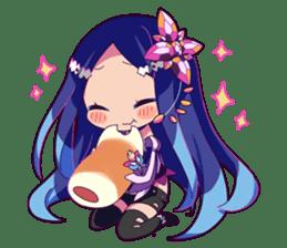 Cutie Chibi Aoki Lapis & Merli sticker #1569057