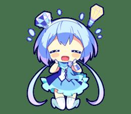 Cutie Chibi Aoki Lapis & Merli sticker #1569062