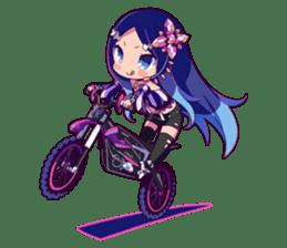 Cutie Chibi Aoki Lapis & Merli sticker #1569066