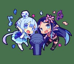 Cutie Chibi Aoki Lapis & Merli sticker #1569069
