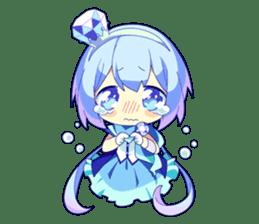 Cutie Chibi Aoki Lapis & Merli sticker #1569072