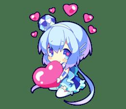 Cutie Chibi Aoki Lapis & Merli sticker #1569075