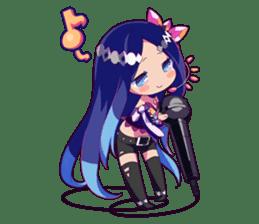 Cutie Chibi Aoki Lapis & Merli sticker #1569076
