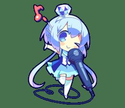 Cutie Chibi Aoki Lapis & Merli sticker #1569077