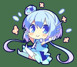 Cutie Chibi Aoki Lapis & Merli sticker #1569081