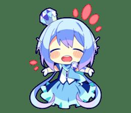Cutie Chibi Aoki Lapis & Merli sticker #1569083
