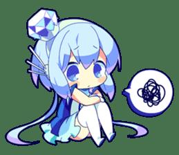 Cutie Chibi Aoki Lapis & Merli sticker #1569085