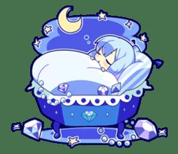 Cutie Chibi Aoki Lapis & Merli sticker #1569087