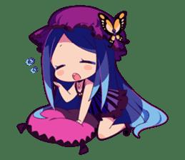 Cutie Chibi Aoki Lapis & Merli sticker #1569088