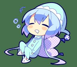 Cutie Chibi Aoki Lapis & Merli sticker #1569089