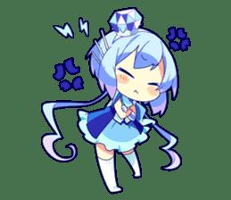 Cutie Chibi Aoki Lapis & Merli sticker #1569091