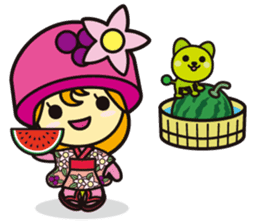 """Sunchlo-kun"" and friends sticker #1569414"