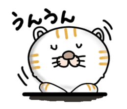 Every day of a Japanese cat sticker #1569546