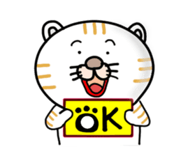 Every day of a Japanese cat sticker #1569560