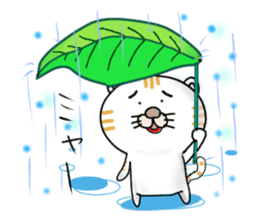 Every day of a Japanese cat sticker #1569574