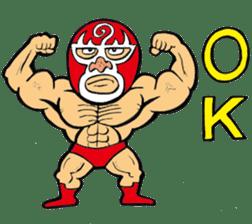 professional wrestler kurukuruman sticker #1571540