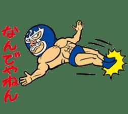 professional wrestler kurukuruman sticker #1571544