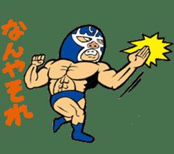 professional wrestler kurukuruman sticker #1571545