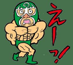 professional wrestler kurukuruman sticker #1571560