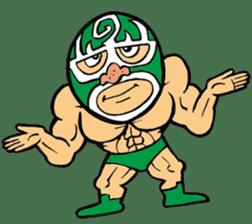 professional wrestler kurukuruman sticker #1571562