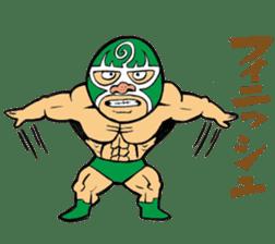 professional wrestler kurukuruman sticker #1571563