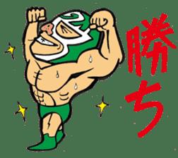professional wrestler kurukuruman sticker #1571565