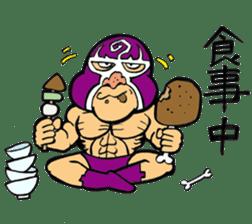 professional wrestler kurukuruman sticker #1571570