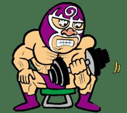 professional wrestler kurukuruman sticker #1571572