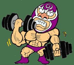 professional wrestler kurukuruman sticker #1571573