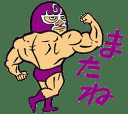 professional wrestler kurukuruman sticker #1571575