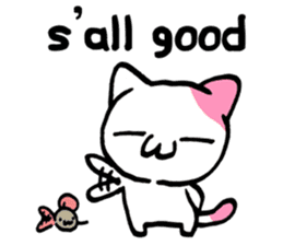 Lazy Cat Goro & Chusuke ENG ver. sticker #1574467